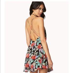 Forever 21 Hawaiian Flower Dress